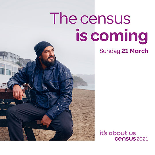 the census is coming