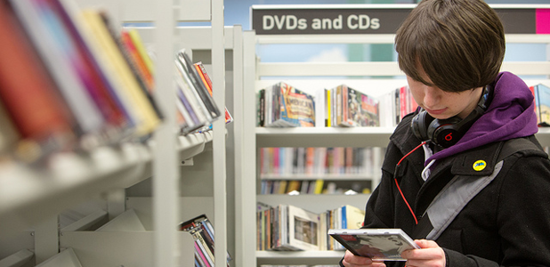Borrow CDs and DVDs
