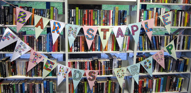 Barnstaple Friends bunting