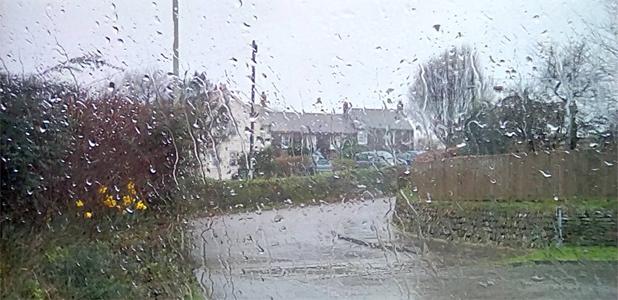 come rain...