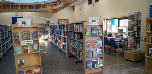 Chulmleigh Library interior