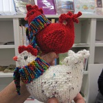 This fun, friendly group of 'Witty Knitters' meet every Tuesday. All levels welcome. Hot drinks are available at 50p.