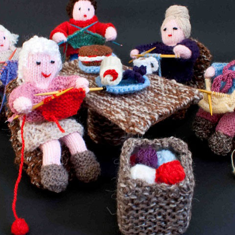 Would you like to join our library knitting group? Just turn up, and bring along your knitting or other needlework. FREE