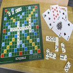 Drop in to the library to join in with Scrabble, Draughts, Chess, Dominoes or Cards. FREE