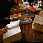 A friendly group discussing a range of contemporary literature - please ask at the library for more details or if you would like to join this group. There is a small monthly cost to cover book group sets.
