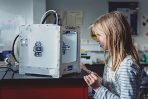 Join us for hands on fun with the FabLab in the Library. Come and find out more at these drop in FREE sessions. Suitable for any age.