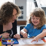 Storytime and craft activities for pre-school chidlren and their carers. Come and join us for lots of fun listening to a story of two and then a simple craft activity - sticking, glueing and colouring. Fortnightly on a Monday, just drop in, no need to book.