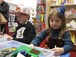 Join us for a fun and informal fortnightly LEGO building session - with a different theme each time. Children of all ages and their parents are welcome to come and play with the selection of LEGO we have (Duplo is also available for younger ones). LEGO models are displayed in the children's area of the library until the next LEGO club. Children remain responsibility of supervising parent/carer.
