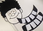 Join us for FabLab Devon Summer Reading Challenge workshops inspired by Mischief Makers. Fun and exciting workshop for children aged 8+. Learn how to design a 2D Beano inspired prop using 2D design software. When you are finished send your design over to the laser cutter to be cut out of card.