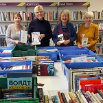 The Friends of Crediton Library will be selling books at very reasonable prices. They are also providing refreshments, donations gratefully received.
