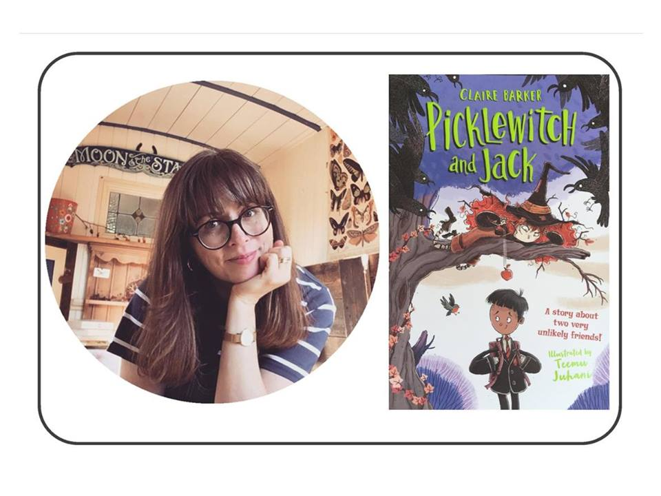 Come dressed as a witch or a schoolboy to welcome Claire back to South Molton Library with her brand new book for 7-10s 'Picklewitch & Jack'. Claire will be chatting about her work and have copies to buy and sign. Tickets available from the library £2 per child (unless dressed as a witch or schoolboy then it is absolutely free)