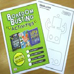 20-27 OCTOBER HALF TERM Drop in during library opening hours for a Boredom Busters craft activity. Suitable for children aged 5+
