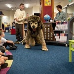 Library Lion is an interactive theatre show bursting with music & film. Suitable for 4-7 year olds. This is a show that fuses storytelling, music, and interactive learning to immerse children in the world of the book. Above all it is fun, funny, and full of feline wonder! Adapted from the award-winning book by Michelle Knudsen and published by Candlewick. Places will be limited please book your ticket in advance at the Library.