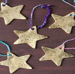 Family drop-in craft event. Come and make a Christmas Star for your tree.