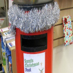 ***SATURDAY 1ST - THURSDAY 20TH DECEMBER*** Available when the library is open, post your Christmas cards and letters in the post box in the library for the scouts to deliver. Deliveries to the South Molton area only, please ensure all cards are clearly addressed and suggested donation 40p.