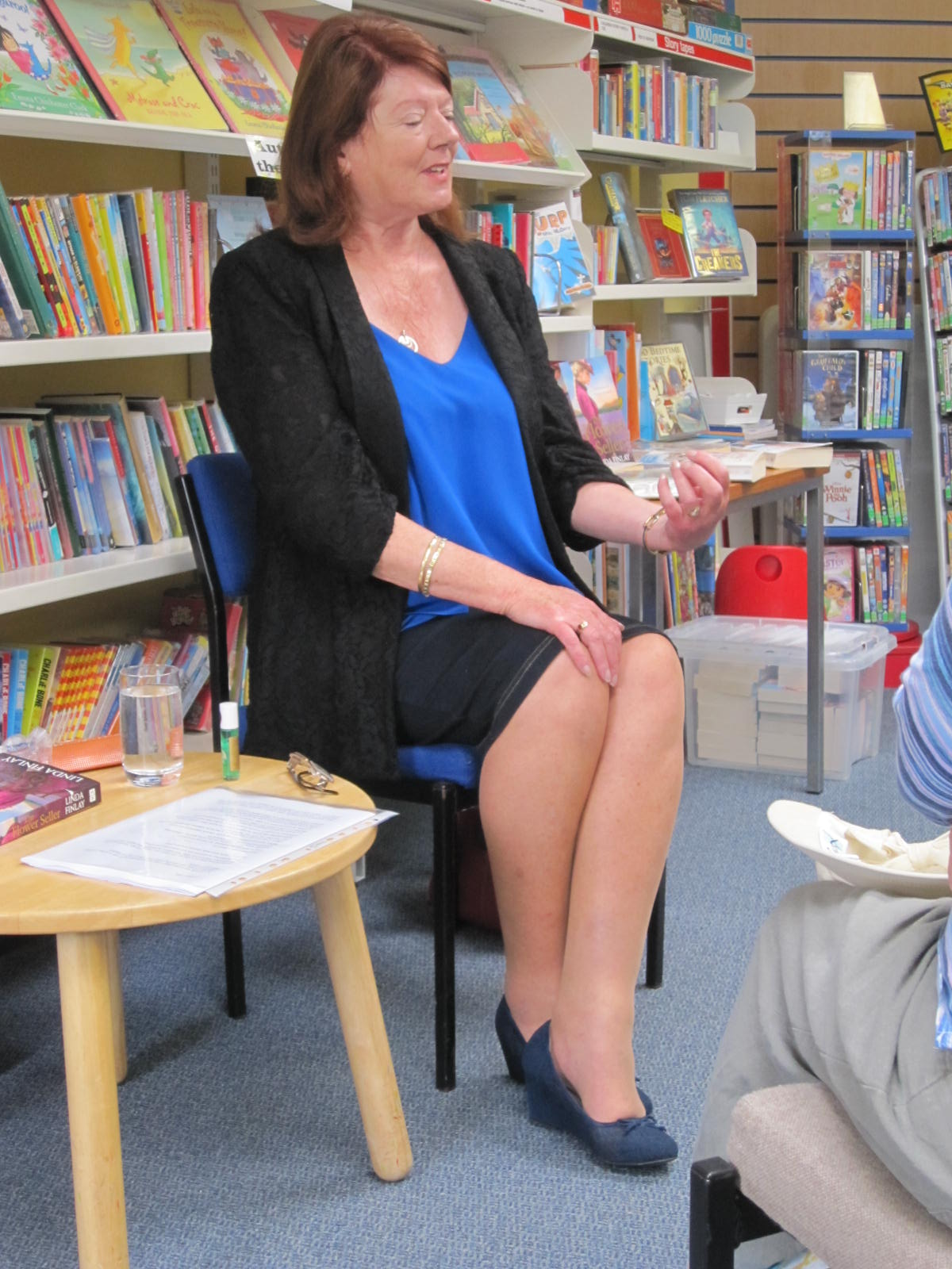 Popular local author, Linda Finlay, talks about her latest book,