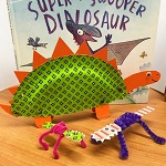 Come and make a dashing dinosaur and a lively lizard with our very own Crafty Cassie! Booking essential - demand is always high! 01392 407061 or email stthomas.library@librariesunlimited.org.uk