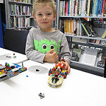 A fun, free, monthly Lego Club - every second Saturday during term time - for children to drop in and build something amazing, astonishing, crazy, colourful and/or imaginative! Have fun creating your own unique Lego model.