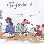 Join Private Eye's award winning cartoonist Tony Husband to discover and create your very own comic strip. Your contribution will feed into a new comic, made over two days, that will become available at our libraries for all to enjoy. Tickets £10 adults £5 Under 14 available from the library or at https://tonyhusbandatbarnstaple.eventbrite.co.uk