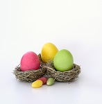 During library opening hours, throughout the Easter holidays, whilst stocks last. Hunt around the children's library and the main library for egg shaped clues. A small chocolate gift for each child who completes the challenge. Two overall winners will each win a chocolatey surprise.