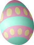 Find pictures of Easter eggs hidden in the library. Sweets and a prize on offer ! Saturday 6 - 20 April