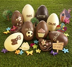 Decorate a Chocolate Egg Children must be accompanied by an adult. Booking in person at the Library