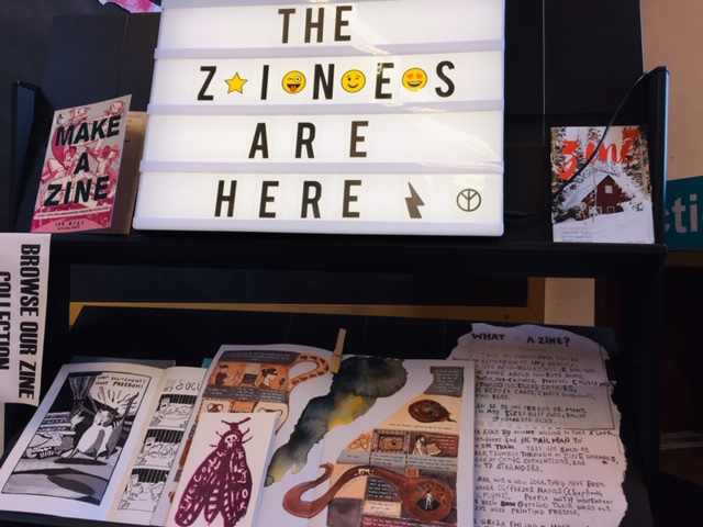 What is a Zine?..... Come and find out and browse are brilliant collection.