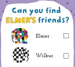 This activity on from Saturday 25 May to 1 June. Hunt for Elmer and his friends hidden around the children's section in the library. Sweets and a prize draw on offer for those taking part.