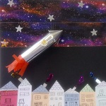 Free drop-in event. Make your own space rocket, enjoy colouring and solve puzzle sheets.