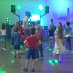 The Disco Party of music and games is being held at the Old Town Hall. It can be booked at the library on completion of the 6 book Summer Reading Challenge.