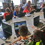 A special space-themed session of Crediton Library's free monthly coding and digital making club for young people aged 7 – 17. Come and explore technology and learn to code in a fun, relaxed environment. If you are under 13 years of age please bring an adult with you to the club. To book please follow this link https://bit.ly/2SMHy2h to the Crediton event on the CoderDojo website.