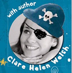 Meet local children's author Clare Helen Welsh, who will be sharing some of her popular picture books in this storytelling and crafts session. Design your own biscuit rocket (yum!) and take part in some pirate crafts! Booking is essential - please contact the library desk to purchase tickets. Only £2 per child, with accompanying adults going free. Suitable for children aged 2+