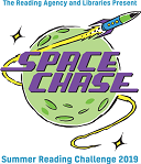 Come and join this year's Summer Reading Challenge - Space Chase! Read six books, collect stickers, and recieve a medal and certificate when you finish! It's completely free to take part. Check out our other space themed events happening throughout the holidays.