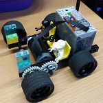 Build a Lego Moon Rover In groups of 3 the children will design and build motorised Lego Moon Rovers. We will test the moon rovers over a Lego moon surface, measure distance and time how long it takes. Please book tickets in advance. Tickets £5 per child from Braunton Library