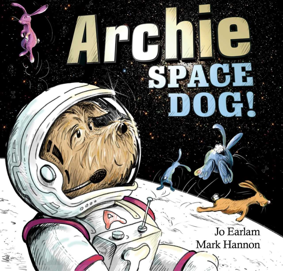 Join us to hear local author Jo Earlem read from her new book 'Archie - Space Dog!' and make paper rockets