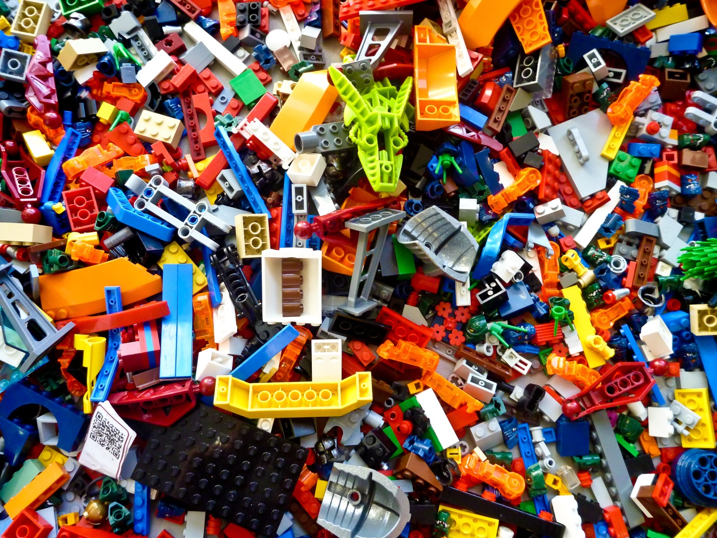 Pop along to the Library and create some Space Lego models.