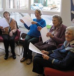 Come along and join us the last Thursday of each month. We are not a choir, we are a group who get together to sing old favourites and stimulate the brain. No ability needed. Refreshments provided.