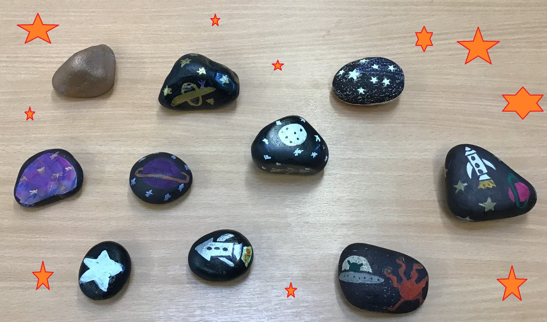 Pop into the library to decorate a pebble. Then either take it home or hide it around town for someone to find (pop a picture on Facebook - #Otteryrocks). 50p per pebble.