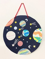 Craft sessions suitable for 3+ Join Cassie / Lee for some spacey fun. Make a galaxy wall hanging and Kaleidoscope Free but donations towards cost of materials appreciated. BOOKING ESSENTIAL as we have limited space. Message us, tel: 01392 407061 or email: stthomas.library@librariesunlimited.org.uk