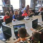 Crediton Library's CoderDojo is a free monthly coding and digital making club for young people aged 7 – 17. Come and explore technology and learn to code in a fun, relaxed environment. If you are under 13 years of age please bring an adult with you to the club. To book please follow this link https://bit.ly/2SMHy2h to the Crediton event on the CoderDojo website.