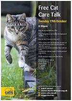 Calling all cat lovers! We are delighted to have Cats Protection charity at the library to deliver a FREE interactive cat care talk aimed at children. The event will include a story, craft and interactive props to help children learn about caring for a cat. This session is ideal for ages 4-8 yrs old but older/younger siblings can join them too. FREE but please book by messaging us, tel: 01392 407061, email us: stthomas.library@librariesunlimited.org.uk or pop in.