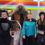 Crediton Library is transformed into Hogwarts for a magical Harry Potter night. The sorting hat sorts the children into houses, followed by games and craft and a fancy dress competition. Children under 8 years old must be accompanied by an adult. Please book in advance at Crediton Library.