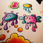 an educational exploration into the world of doodles, sketches and drawing with local kawaii artist HOSHiKO. Have fun creating art work and hopefully learn something new. For age 10 years and up. all materials and equipment provided. Booking essential. Call in to the Library to book your place.