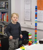 Get creative at our Lego Club.