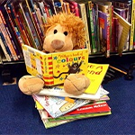 Come and listen to stories read by James, Cassie or Zoe. For little ones and their big ones. Also on Fridays at 10:15.