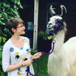Llamas Ollie and Golly have helped Sidmouth Library launch the Summer Reading Challenge for the last three years. They live at the Peak Hill Llama centre http://www.walkingwithllamas.co.uk/ In this lovely video Chloe from Sidmouth Library chats to Ollie, Golly and their owner to find out more about them. To join the Summer Reading Challenge sign up here: https://summerreadingchallenge.org.uk/ #SummerReadingChallenge #SillySquad