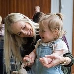 Babies, toddlers and their parents/carers are welcome to come and enjoy nursery rhymes and action songs together fortnightly on Monday morning, just drop in, no need to book.