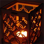 Design your own beautifully cut wooden candle holder Create you own design for a Laser Cut Wooden Candle Holder. After purchasing a ticket you will be directed to a tutorial video in order to make your design. For the design you will need the software Inkscape which is free to download, but you will need internet (for the download) and a computer. Once you have finished please email us the design to fablab@librariesunlimited.org.uk with the subject text