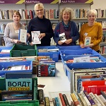 This second-hand book sale is organised by the Friends of Crediton Library and will be taking place in the library. A wide range of fiction and non-fiction books will be available to buy at very cheap prices, with all proceeds being used by the Friends to enhance our Library provision. Free refreshments will be available - donations are welcomed but not compulsory.