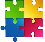Do you like jigsaw puzzles? There will be a jigsaw puzzle in the library throughout February for anyone to help complete. See if you can fit one or two or 30 pieces into the puzzle. For all ages.